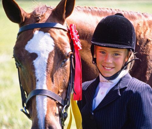Cours équitation enfant