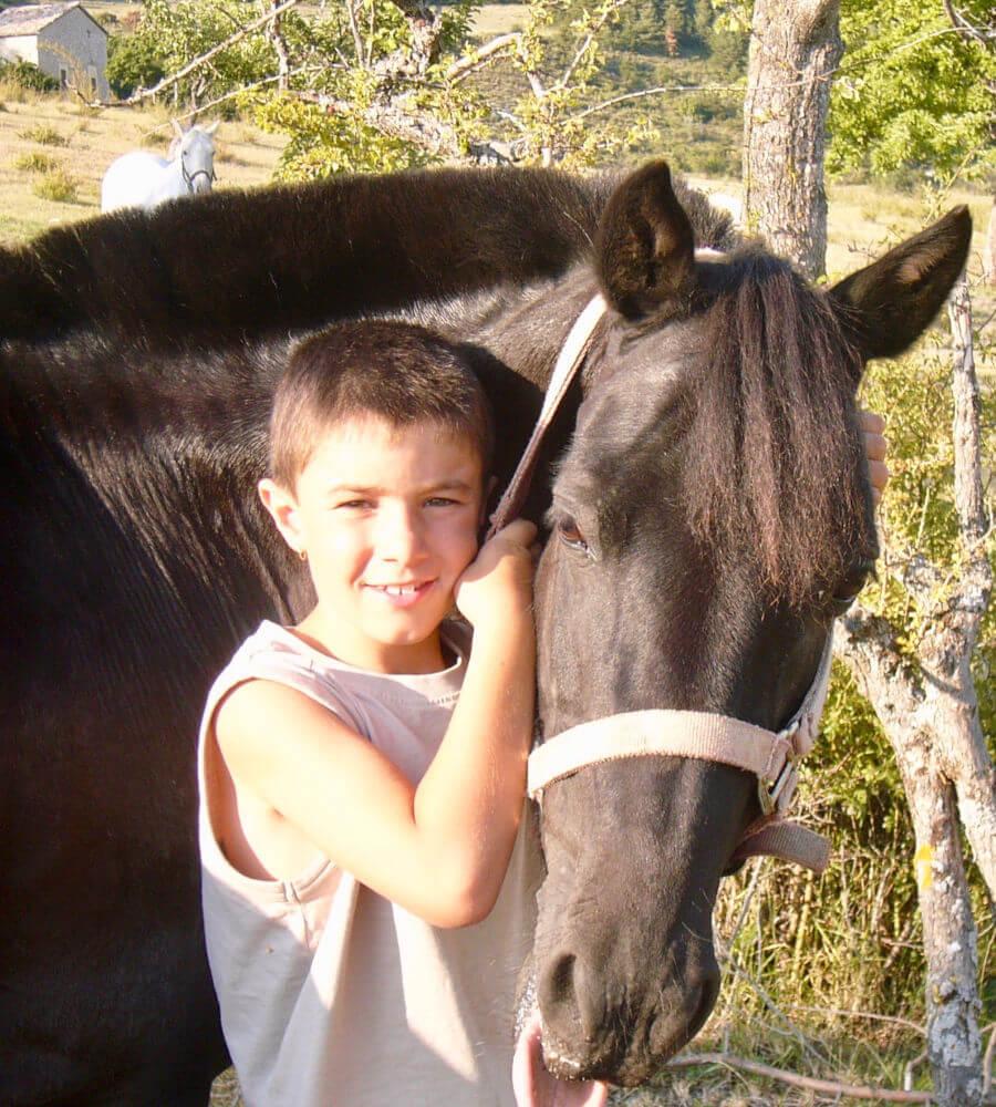 Cours d'équitation enfant : responsabilisation des enfants