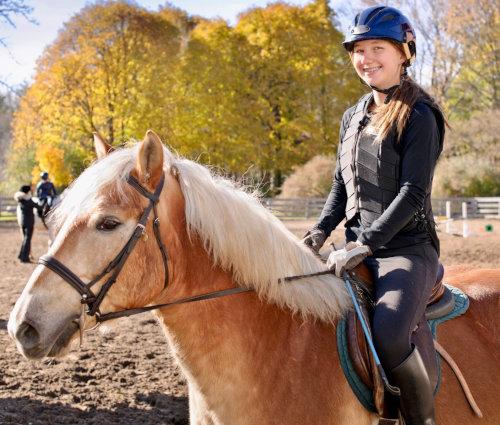 Cours d'équitation ado